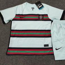 2020 Portugal away Kids Soccer Jersey