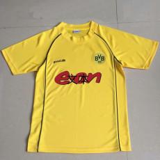 2001-2002 Dortmund Home Retro Soccer Jersey
