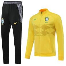 20-21 Brazil Yellow Jacket Tracksuit