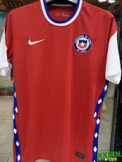 20-21 Chile Home 1:1 Fans Soccer Jersey