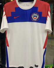 20-21 Chile Away 1:1 Fans Soccer Jersey