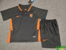 2020 Netherlands Away Kids Soccer Jersey
