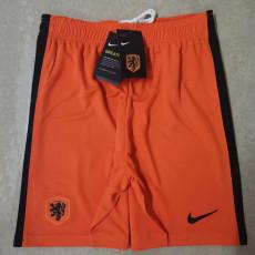 2020 Netherlands Home Orange Shorts Pants