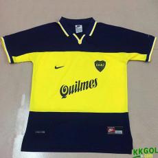 1998-1999 Boca Juniors Home Retro Soccer Jersey