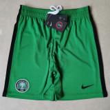 2020 Nigeria Home Green Shorts pants