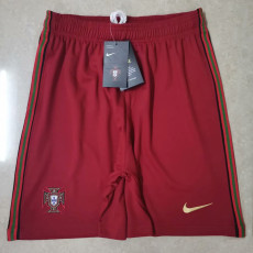2020 Portugal Red Shorts Pants