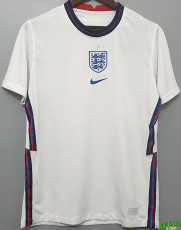 2020 England Home White 1:1 Fans Soccer Jersey