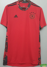 2020 Germany Red Goalkeeper Soccer Jersey