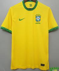2020 Brazil Home 1:1 Yellow  Fans Soccer Jersey