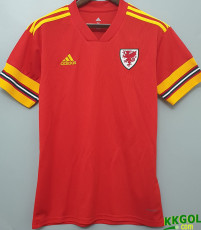 2020 Wales Home 1:1 Fans Soccer Jersey