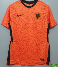 2020 Netherlands Home 1:1 Soccer Jersey
