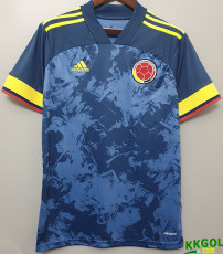 2020 Colombia 1:1 Away Soccer Jersey