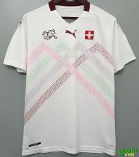 2020 Switzerland away 1:1 Fans Soccer Jersey