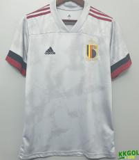 2020 Belgium 1:1 Away Fans Soccer Jersey