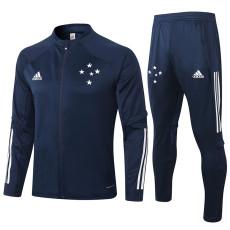 2020 Cruzeiro Dark Blue Jacket Tracksuit
