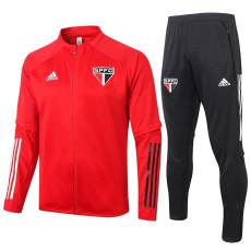 2020 Sao Paulo Red Jacket Tracksuit