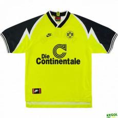 1995-1996 Borussia Dortmund Home Retro Soccer Jers