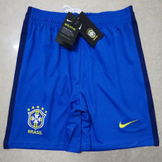 2020 Brazil Away Blue Shorts Pants
