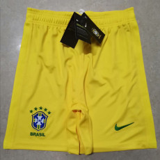2020 Brazil Home Yellow Shorts Pants