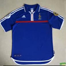 2000 France European Championship Retro Soccer Jersey