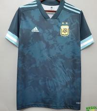 2020  Argentina Away 1:1 Fans Soccer Jersey