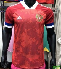 2020 Russia Home Player Soccer Jersey