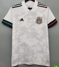 2020 Mexico Away 1:1 White  Soccer Jersey