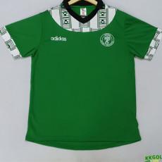 1994 Nigeria Home Green Retro Soccer Jersey