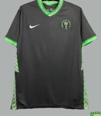 2020 Nigeria Away Dark Grey Fans Soccer Jersey