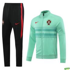 20-21 Portugal Green Jacket Tracksuit