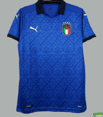 2020 Italy Home 1:1 Fans Soccer Jersey