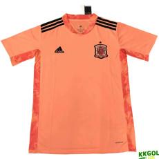 2020 Spain Pink GK Soccer Jersey