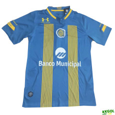 20-21 Rosario Central Home Fans Soccer Jersey