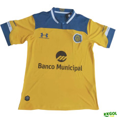 20-21 Rosario Central Away Fans Soccer Jersey