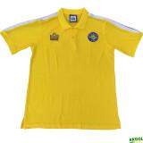 1978 Leeds United Away  Retro yellow Soccer Jersey