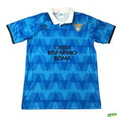 1991 Lazio Home Retro Blue Soccer Jersey