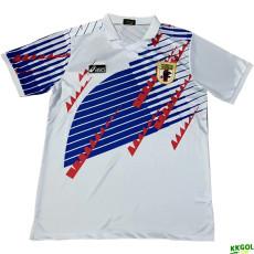 1994 Japan Away White Retro Soccer Jersey