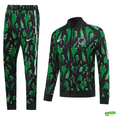 20-21 Nigeria Green Jacket Tracksuit