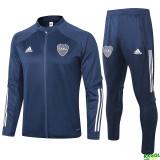20-21 Boca Juniors Blue Jacket Tracksuit