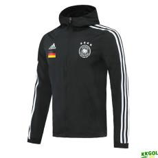 20-21 Germany Black Windbreaker