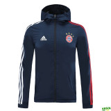 20-21 Bayern Royal Blue Windbreaker