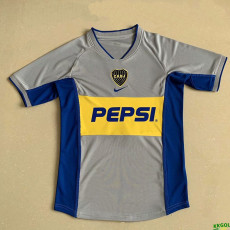2002 Boca Juniors Away Retro Soccer Jersey