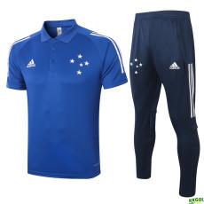 2020 Cruzeiro Ink Blue Polo Tracksuit