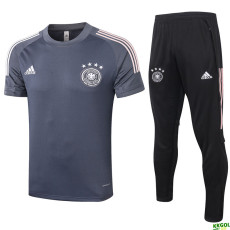 2020 Germany  Dark Grey Training Tracksuit