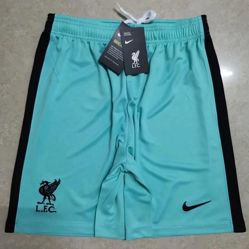 US$ 8 - 20-21 Liverpool Away Blue Shorts Pants - www.kkgol.com
