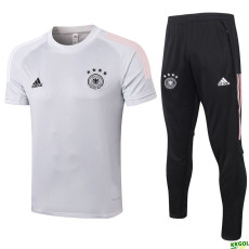 2020 Germany Light Grey Training Tracksuit
