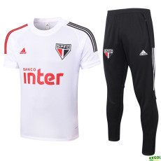 2020 Sao Paulo white Training Tracksuit