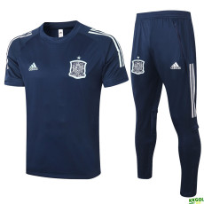 2020 Spain Blue Training Tracksuit