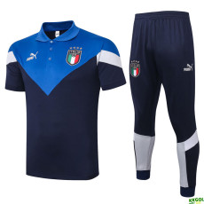 2020 Italy Blue Polo Tracksuit