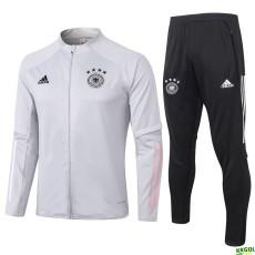 2020 Germany Light Grey Jacket Tracksuit